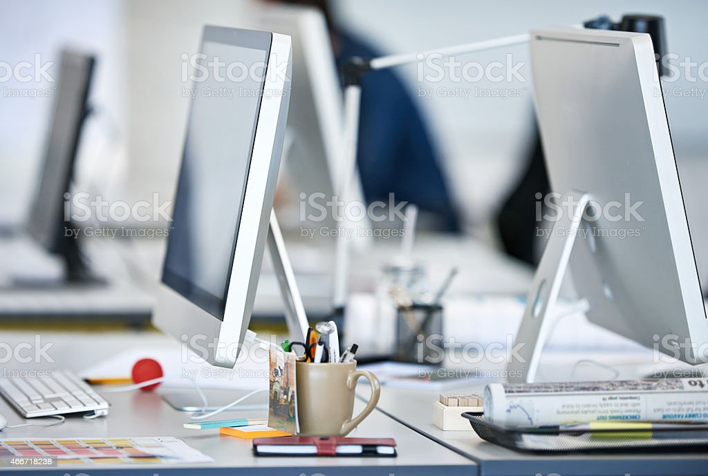 The tools of modern design stock photo