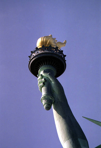 The Torch of Liberty stock photo