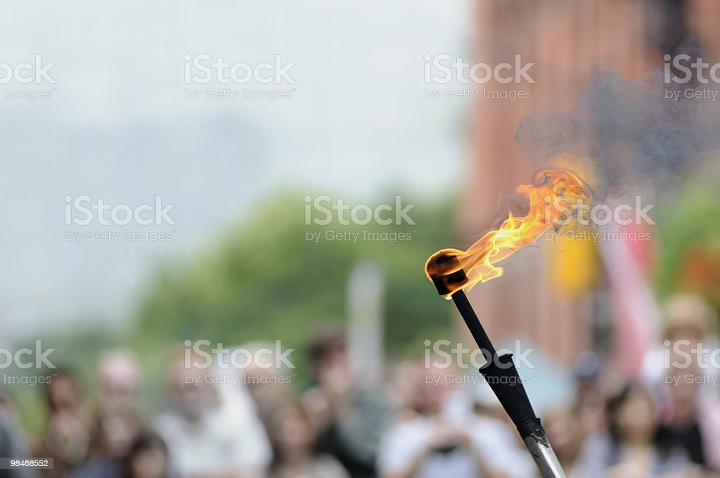 The Torch royalty-free stock photo