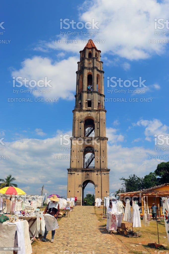 The tower at Manaca Izanga Estate stock photo