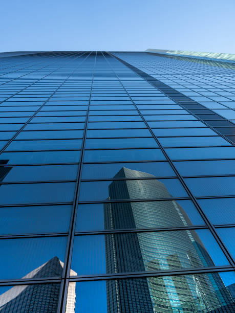The Tower building in Tokyo, Japan stock photo