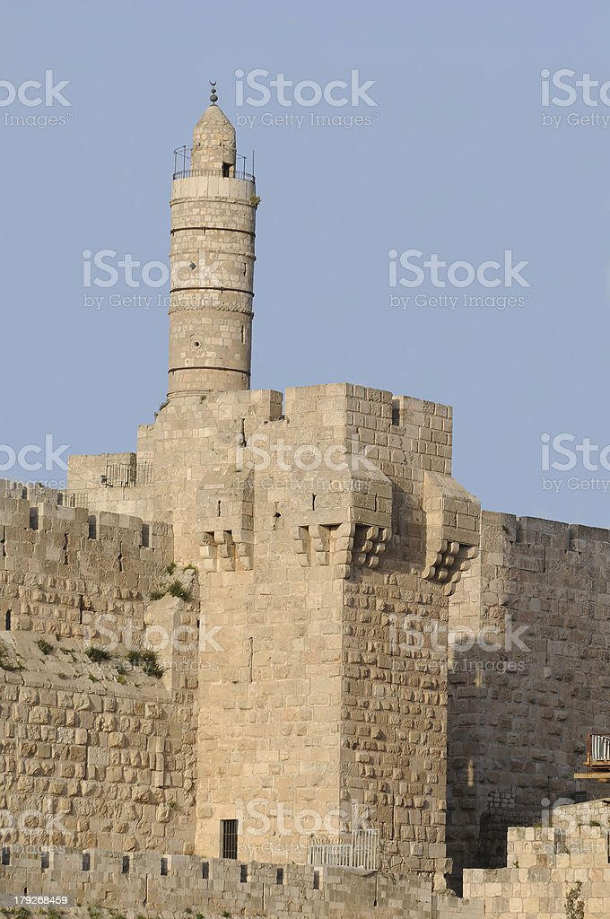 The Tower of david royalty-free stock photo