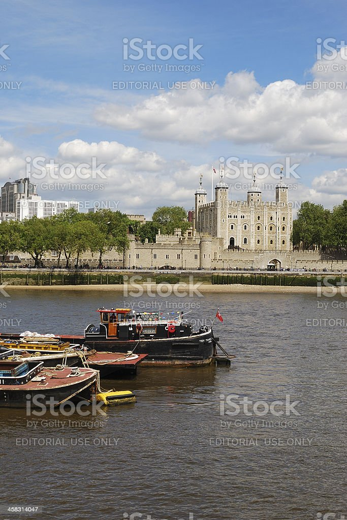 The Tower of London. England royalty-free stock photo