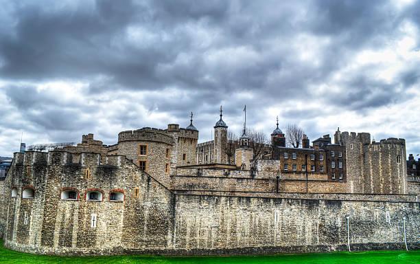 La Torre di Londra in hdr - foto stock