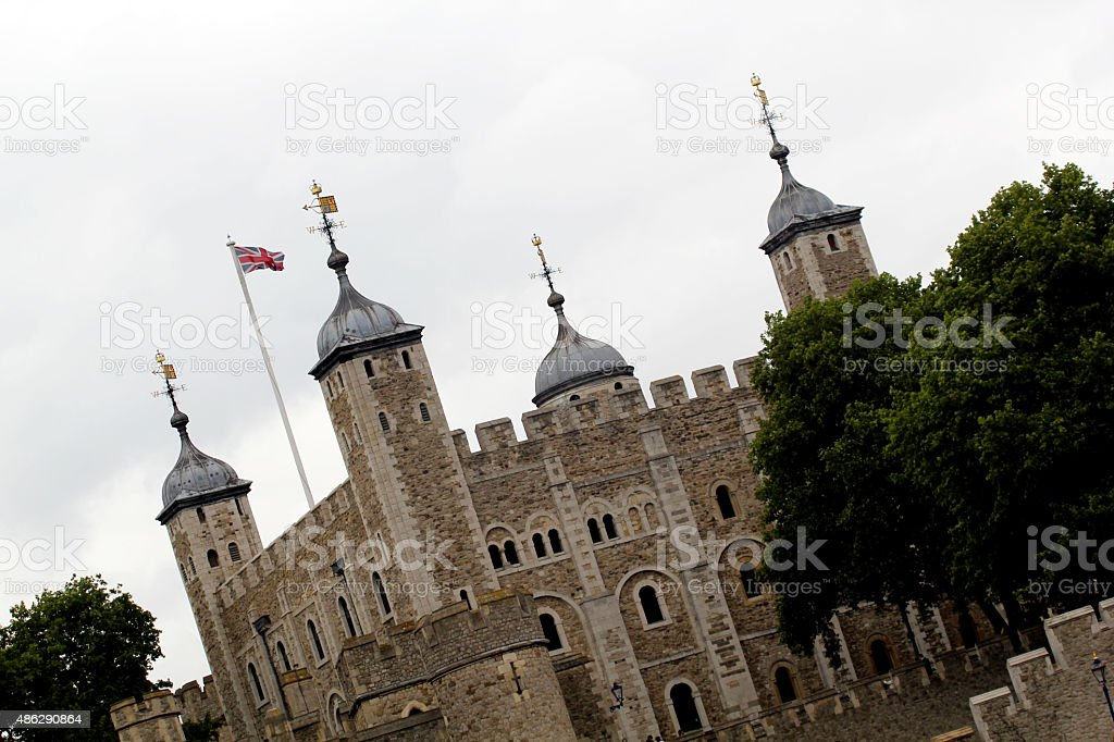 A Torre de Londres - foto de acervo