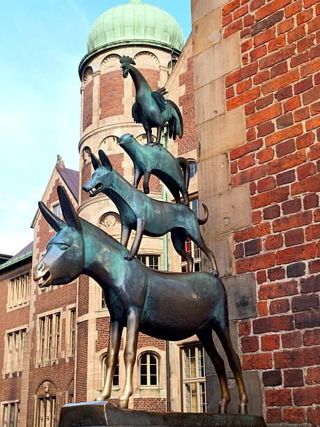 Músicos de la ciudad de Bremen. - foto de stock