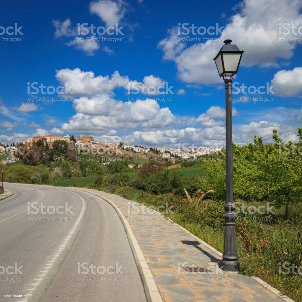 The town of Ronda in Andalucía, Spain. stock photo