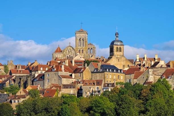 the town Vezelay, Burgundy – Foto