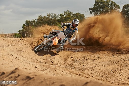 istock The track is where he thrives 481212780