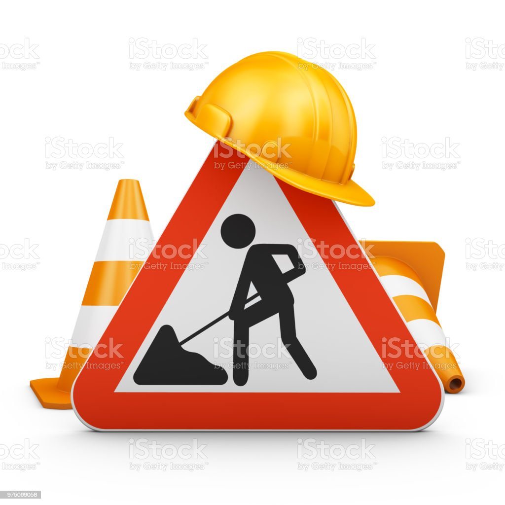 The Traffic sign - foto stock