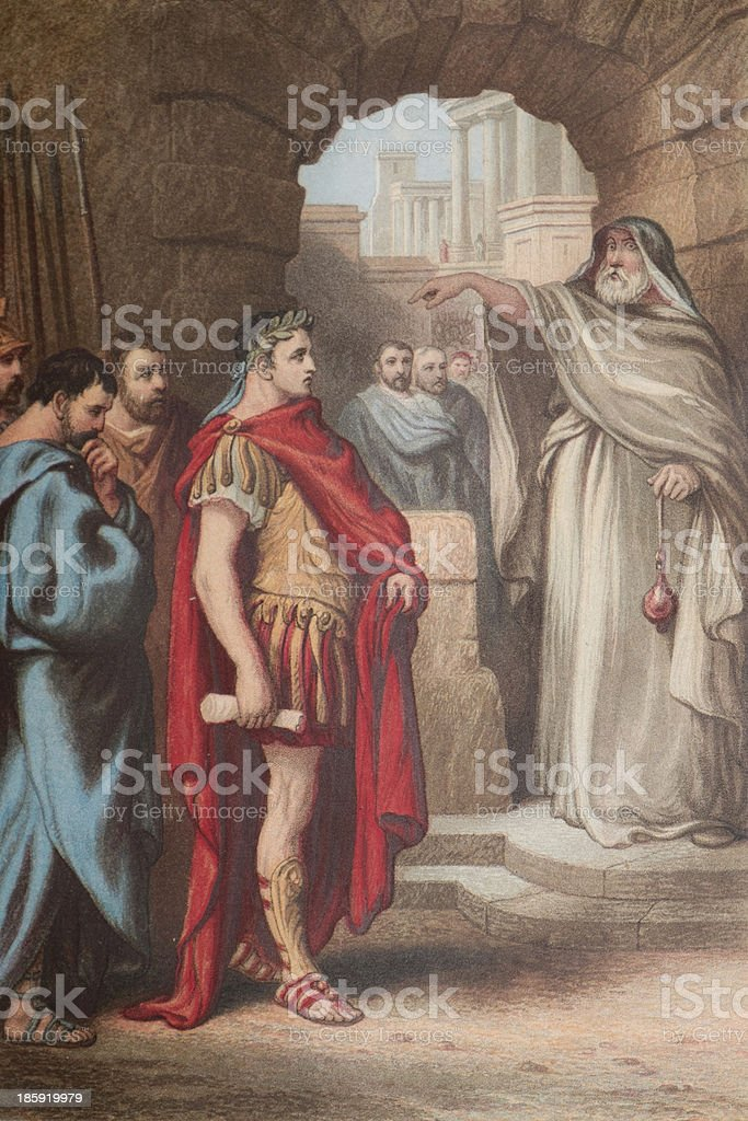 The Tragedy of Julius Caesar by William Shakespeare stock photo