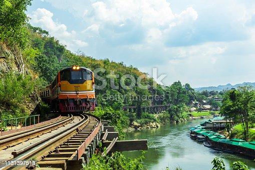 Asia, Kanchanaburi Province, Thailand, Arcade, Commuter