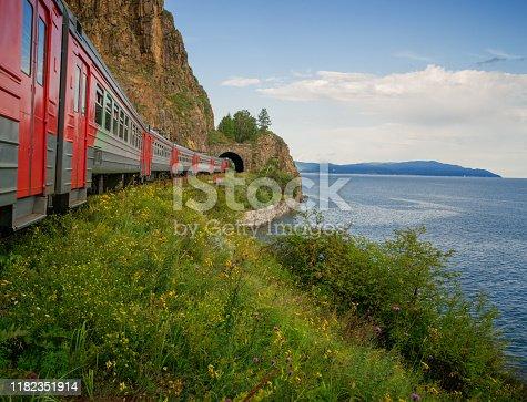 Lake Baikal in Eastern Siberia, Irkutsk region