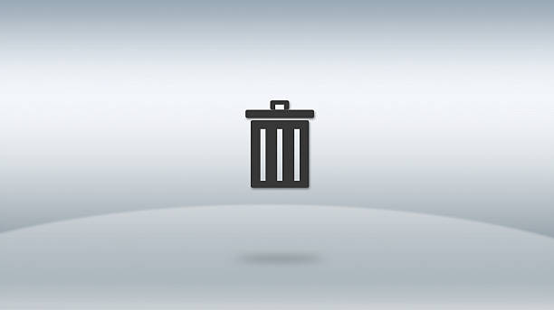"""das symbol """"papierkorb - kostenlos tv stock-fotos und bilder"""