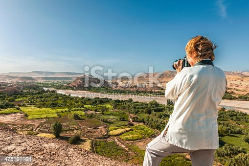 872393896istockphoto The traveler photographing afternoon Aït Ben Haddou,  Morocco, North Africa 475161164