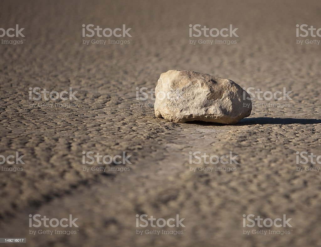 The Traveling Rock stock photo