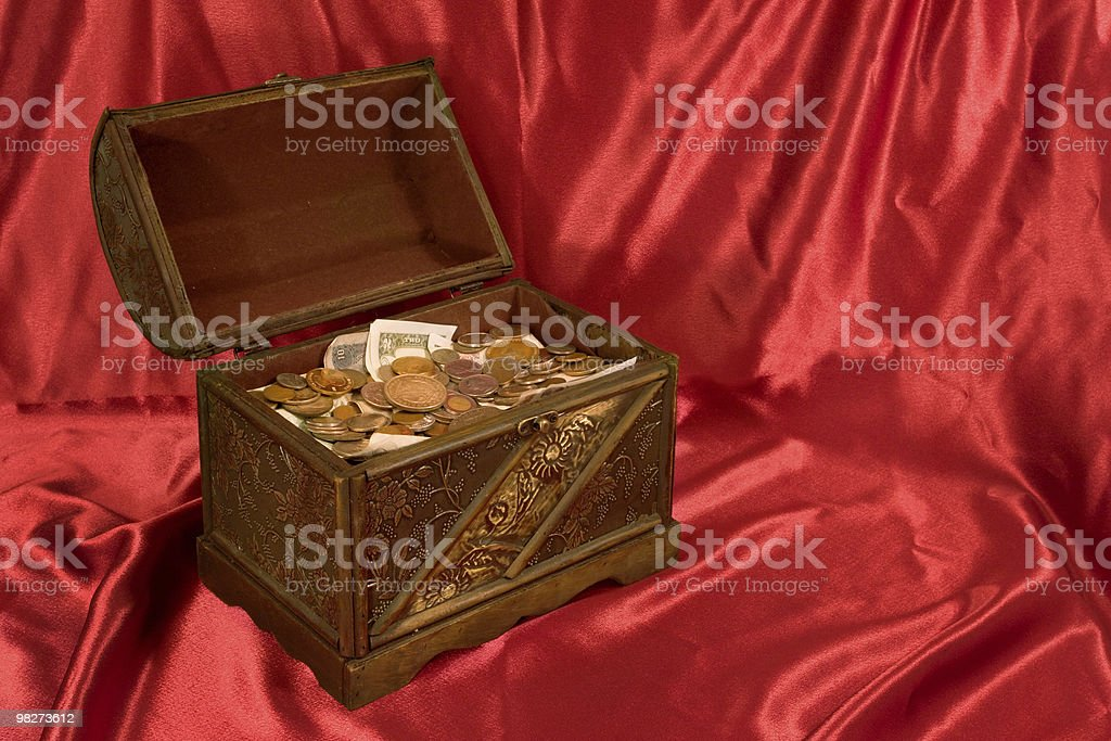 The Treasure Box royalty-free stock photo