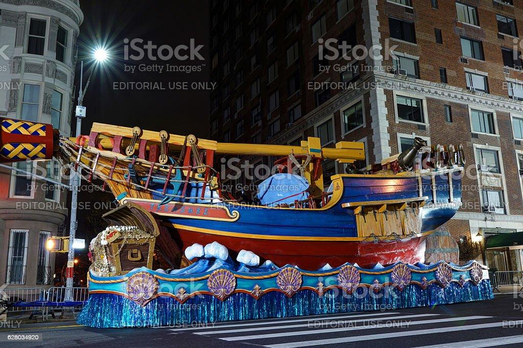 The 'Treasure Hunt' Float – Foto