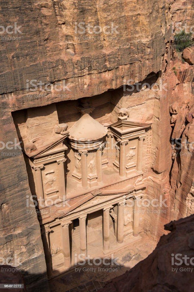The Treasury. Petra, Jordan - Royalty-free Ancient Stock Photo