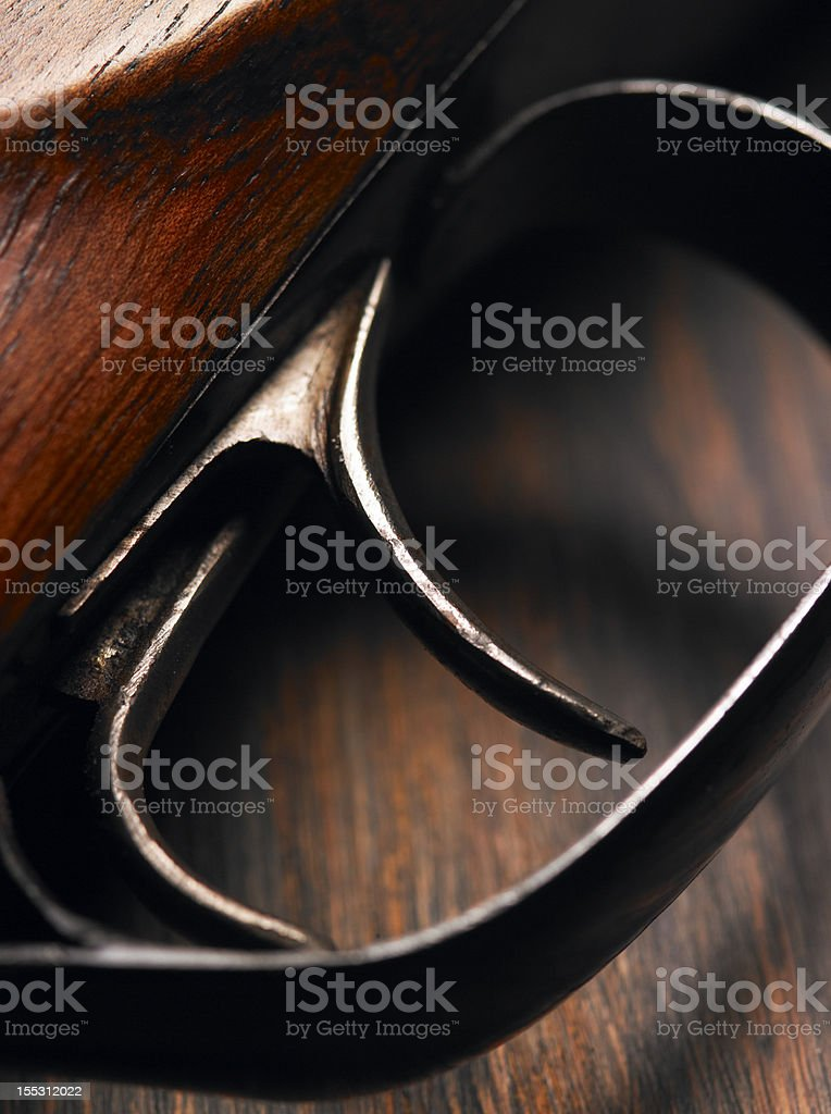 The trigger royalty-free stock photo