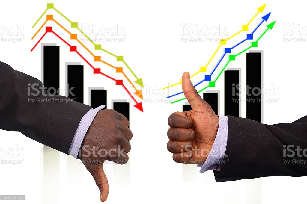 The Triple Rise and Fall royalty-free stock photo