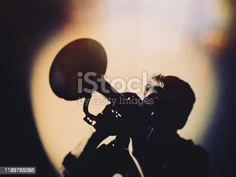 Trumpet, Player, vintage, dark, art, jazz, trumpet player, stage light,
