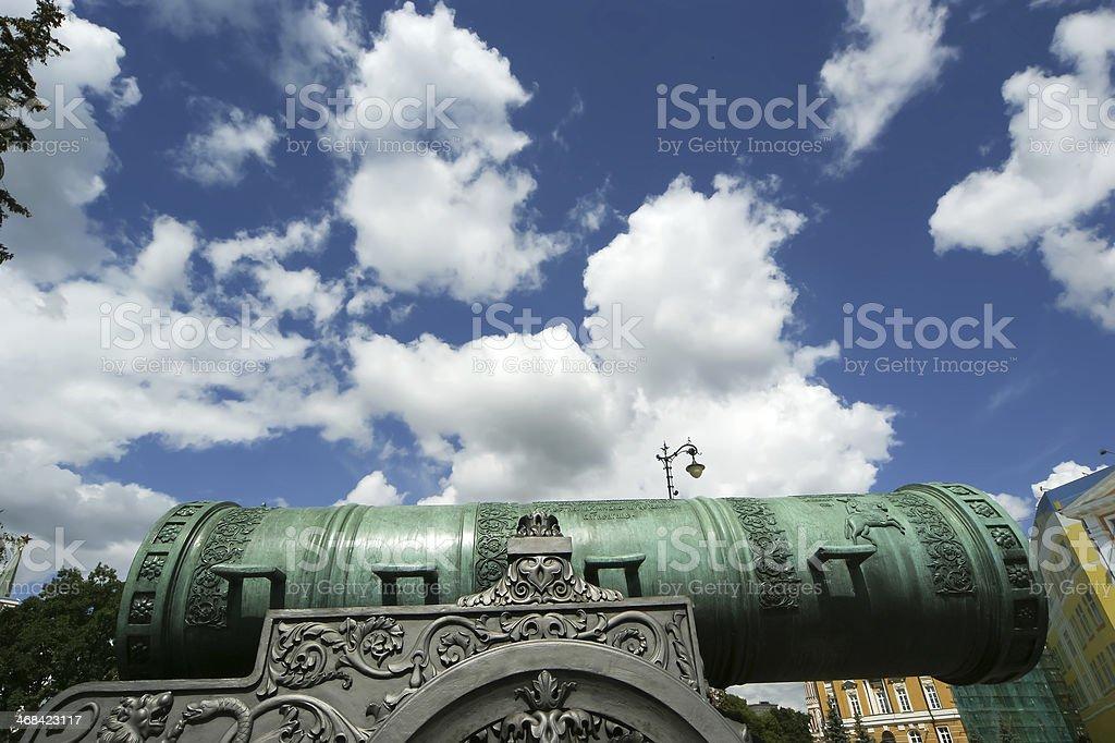 The Tsar Cannon, Moscow Kremlin royalty-free stock photo