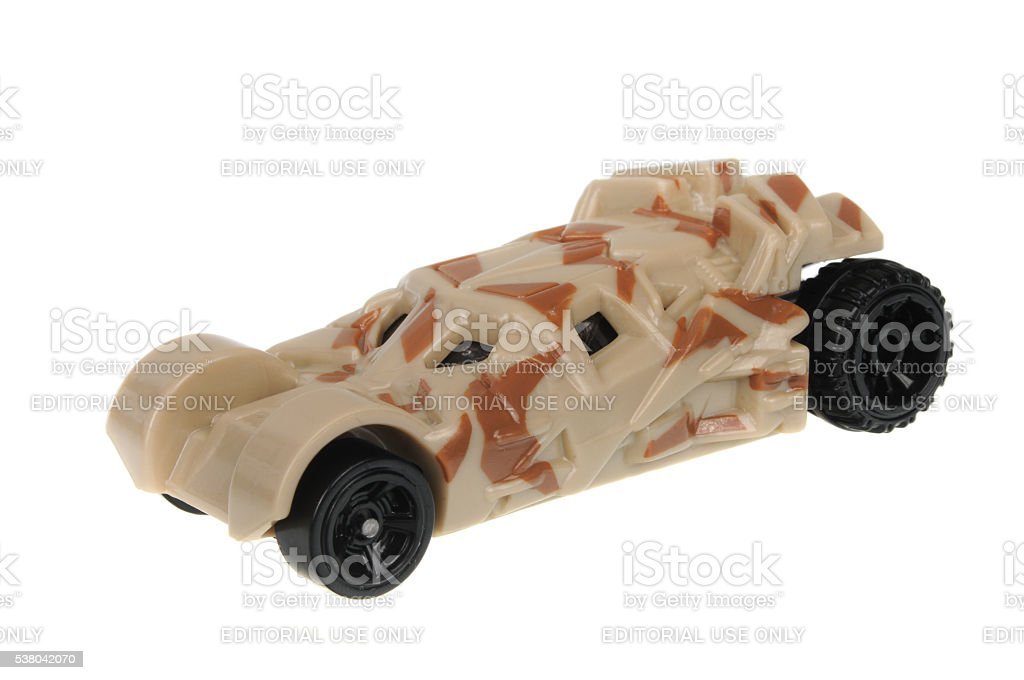 The Tumbler Camouflage Version Hot Wheels Diecast Toy Car stock photo