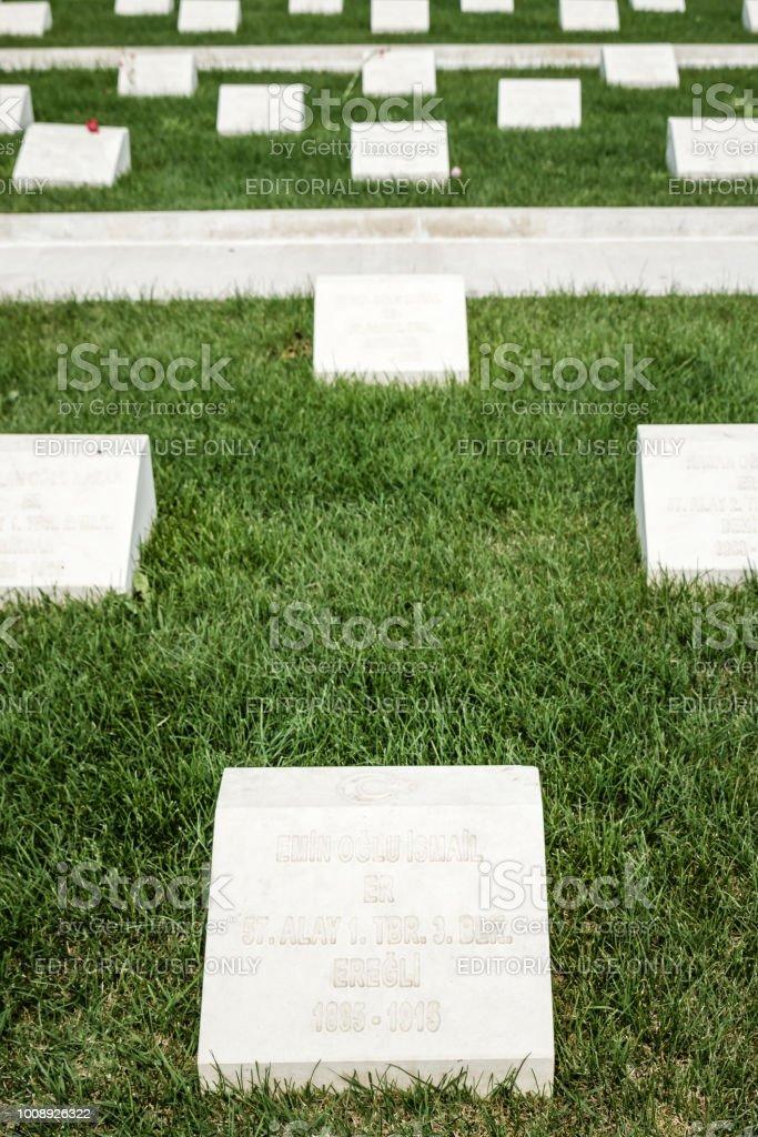 Le turc 57e régiment d'infanterie mémorial et cimetière - Photo