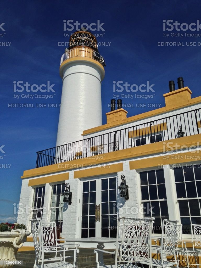 The Turnberry Lighthouse stock photo