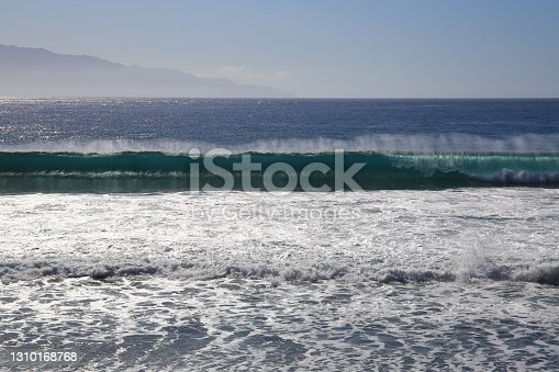 istock The turquoise waters on the beach in Sao Felipe on Fogo island 1310168768