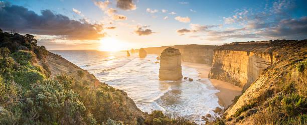 Die zwölf Apostel im great ocean road, Melbourne, Victoria, Australien. – Foto