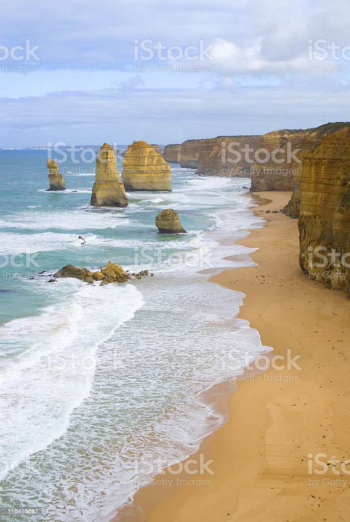 The Twelve Apostles, Great Ocean Road, Victoria, Australia royalty-free stock photo