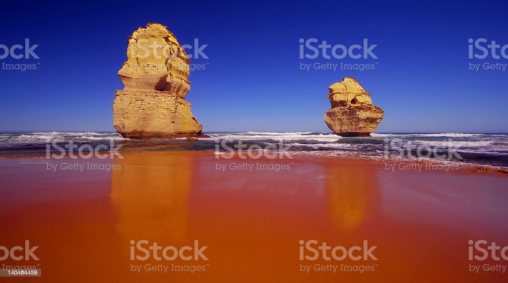 The Twelve Apostles stock photo