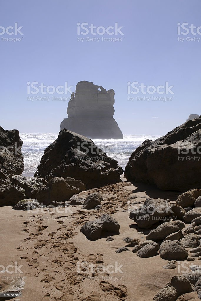 The Twelve Apostles royalty-free stock photo