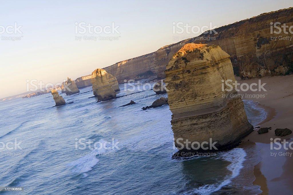 The Twelve Apostles, Victoria, Australia royalty-free stock photo