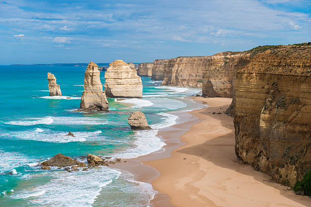 i dodici apostoli, victoria, australia - victoria australia foto e immagini stock