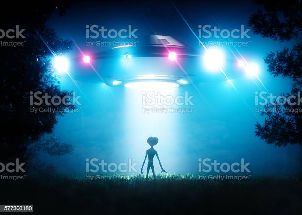 The ufo hovering over the alien visitor picture id577303180?b=1&k=6&m=577303180&s=612x612&h=z8hg5skbra3nlnb2d gnjdcyqqpyuikeot mpmqcfm0=