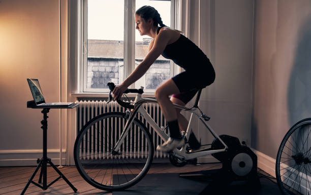 The ultimate way to fitness stock photo