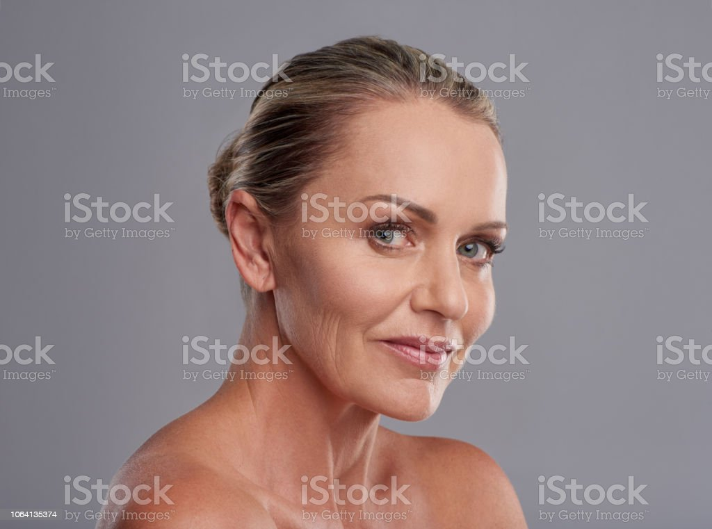 The undeniable appeal of ageless beauty stock photo