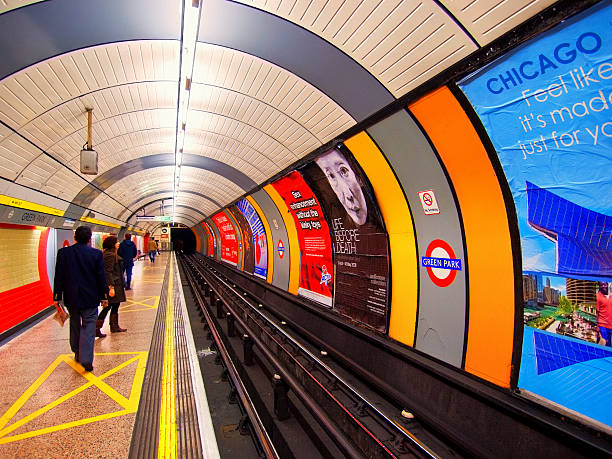 Die U-Bahn in London – Foto