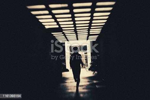 Tunnel, The End, City, darkness, underpass, pedestrian underpass, Berlin