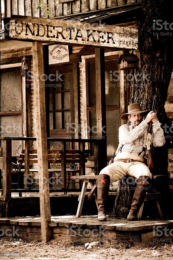 The Undertaker stock photo