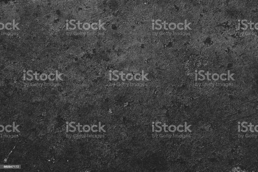 the uneven texture of rusty metal in black color stock photo