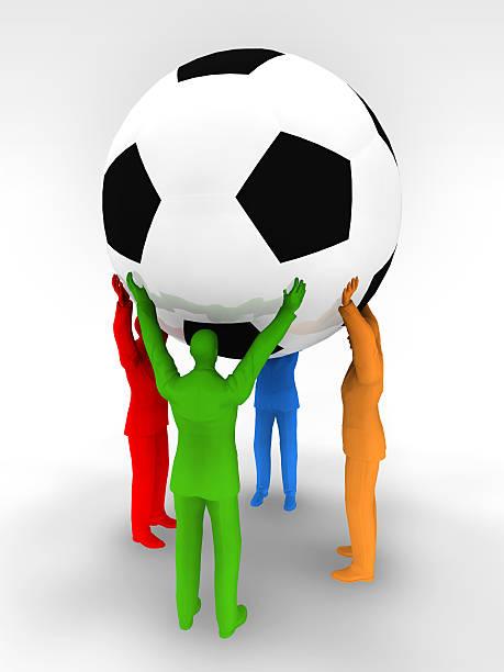 a unificação potência de futebol - ronaldo imagens e fotografias de stock