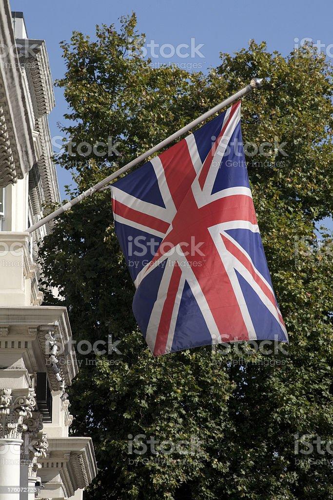 The 'Union Jack' Flag royalty-free stock photo