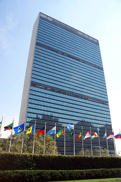 The united nations building with various flags picture id134189216?b=1&k=6&m=134189216&s=612x612&w=0&h=rgmpsnzpoqzt7j8jujdsna goiruweaqfblcijjr ic=