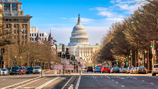 The United States Capitol Building Dc Stock Photo - Download Image Now