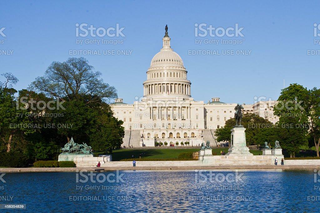 The United States Capitol Building, Washington DC stock photo