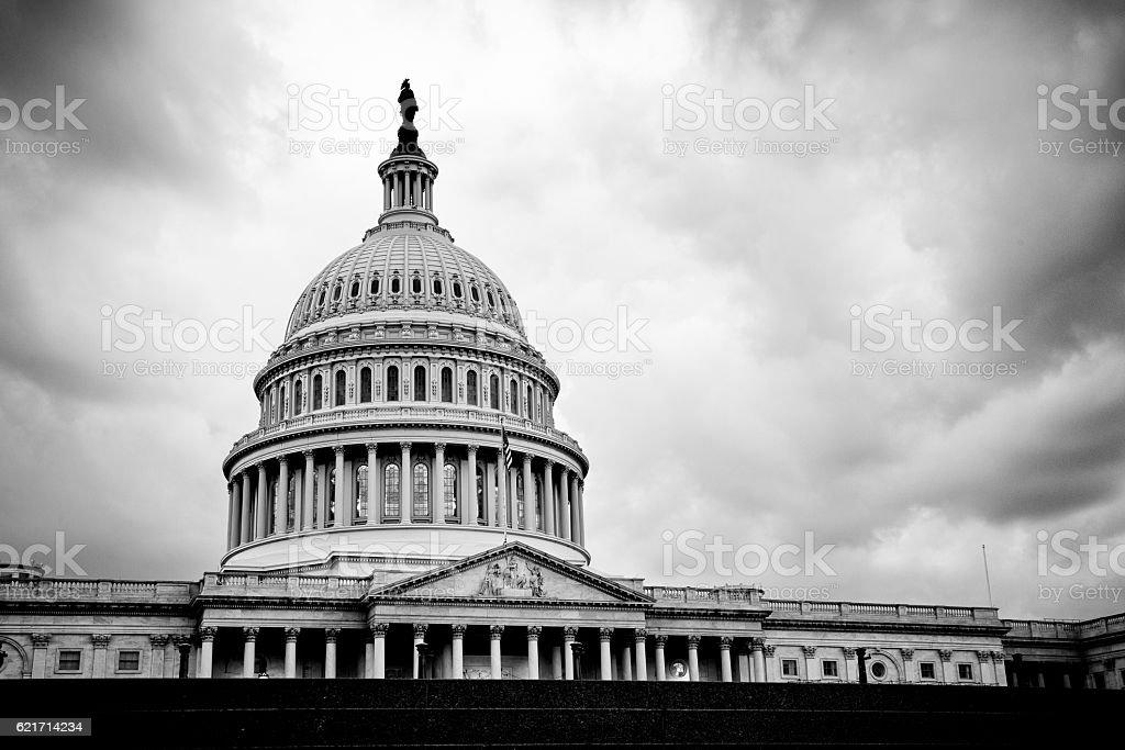 The United States Capitol Building, Washington, DC royalty-free stock photo